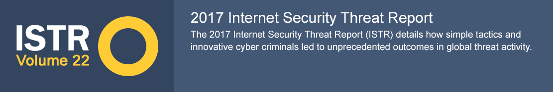 Symantec Internet Security Threat Report