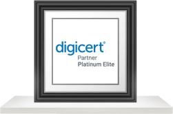 DigiCert's Platinum Elite PKI Partner