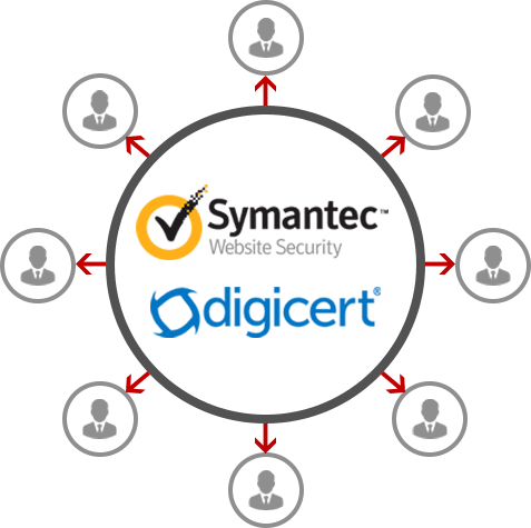 Provide Service for DigiCert & Symantec