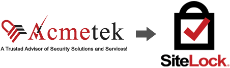 Why SiteLock with Acmetek